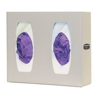 Glove Box Dispenser - Double with Divider image
