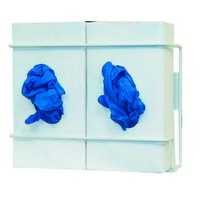Glove Box Dispenser - Double - Coated Wire image