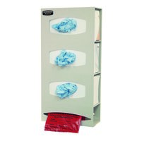 Triple Glove & Single Roll Bag Dispenser image