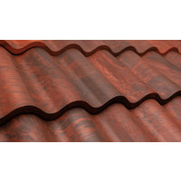 Aged Mission Spanish Barrel Tile image