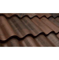 Black Brown Blend Spanish Barrel Tile image