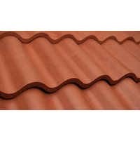 French Clay Spanish Barrel Tile image
