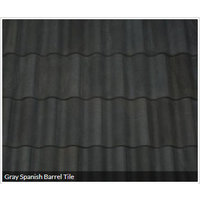Gray Spanish Barrel Tile image