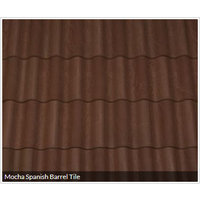 Mocha Spanish Barrel Tile image