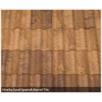 Mocha Sand Spanish Barrel Tile image