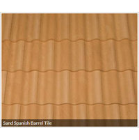 Sand Spanish Barrel Tile image