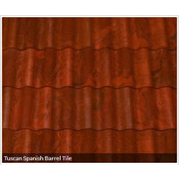 Tuscan Spanish Barrel Tile image
