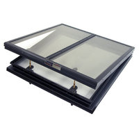 Alumilite Multi-Panel Glass Openable Skylight (Electric) image