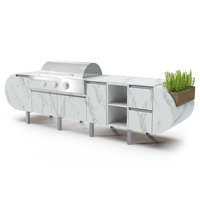 Modular Outdoor Kitchen Cabinet  image