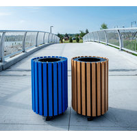 Outdoor Recycled Plastic Lumber Bins image