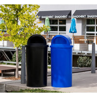 New - Low Cost Outdoor Recycling and Waste Bins image