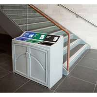 Triple-Stream Waste and Recycling Bin image