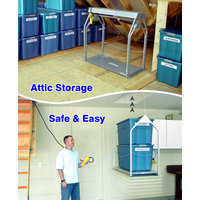 Push-Button Attic Storage Solution image