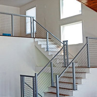Cable Railing System - Natural Aluminum image