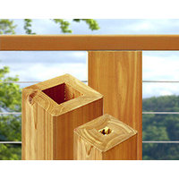 Cable Railing System – Western Red Cedar image