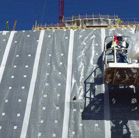 Self-Adhering, Blindside Waterproofing Membrane Vertical Grade image