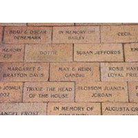 Engraved Pavers image