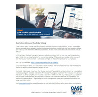 Case Systems Online Catalog image