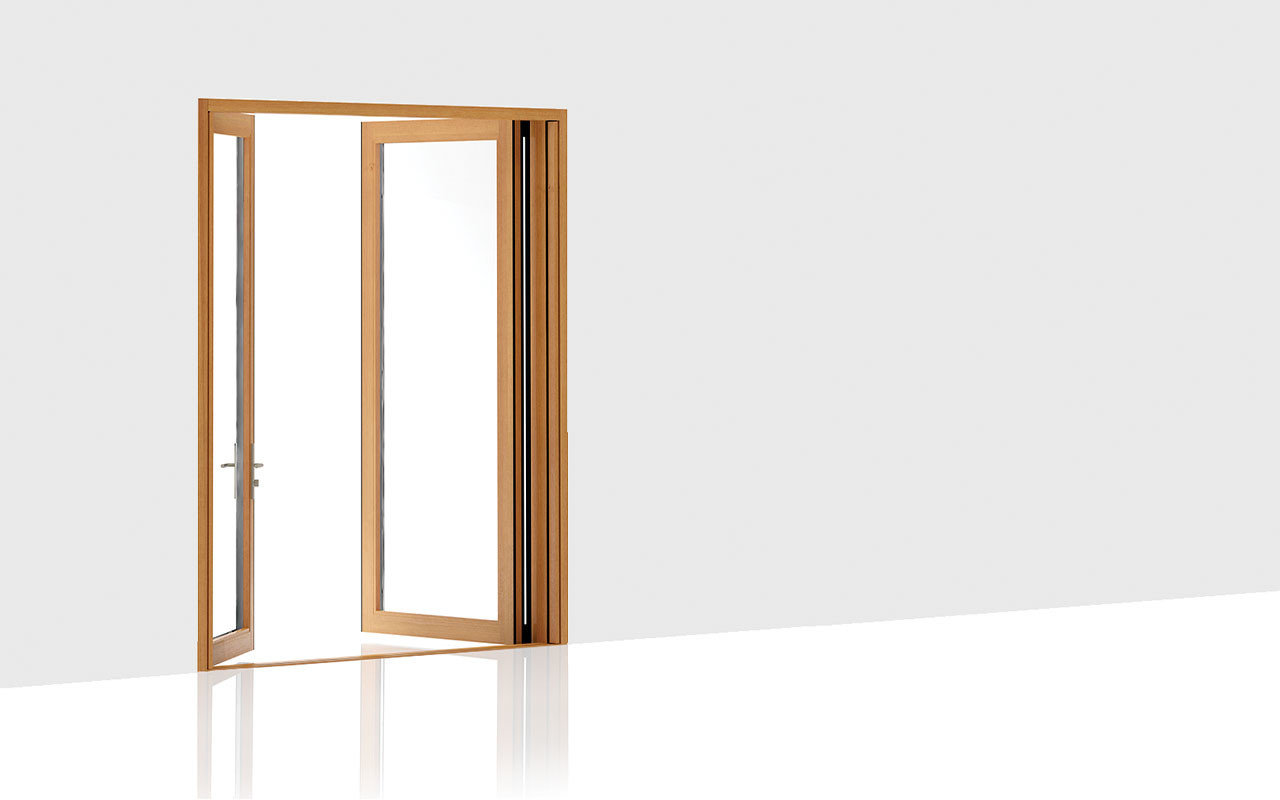 203 Integrated Double - Swing Door