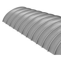Curved SRS® 3 Standing Seam Roof image