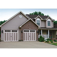 Insulated or Non-Insulated Steel and Composite Carriage House Garage Door image