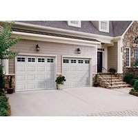 Insulated or Non-Insulated Short or Long Panel Steel Garage Door image