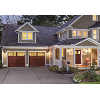 Wood Carriage House Garage Door image