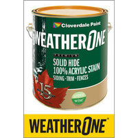 WeatherOne® Stains image