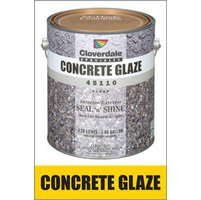 Clear Sealers - Concrete Glaze Solvent Based Acrylic Seal N Shine image