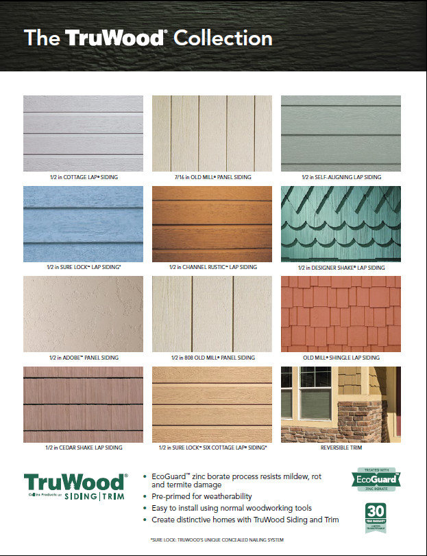 Collins fsc certified wood building materials for Engineered wood siding cost