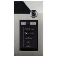 316 Touch: STAINLESS STEEL  AUDIO/VIDEO ENTRANCE PANEL WITH TOUCH SCREEN image