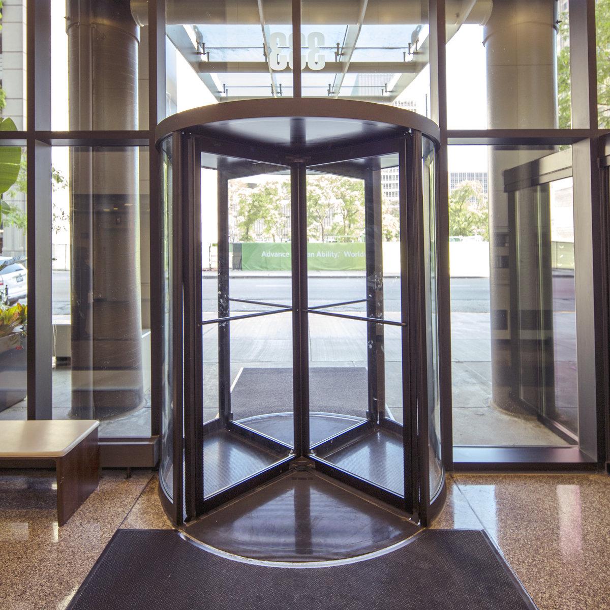 Crane revolving door company inc by dorma doors and