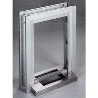 Service Window with Aluminum Clamp-on Frame image