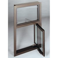 Flip Window with Transom (Non-Bullet Resistant) image