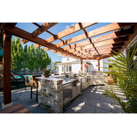 Vinyl Pergolas and Fabric Awning image