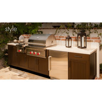 Danver Stainless Steel Cabinetry image | Brown Jordan Outdoor Kitchen