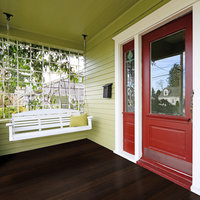 Fused Bamboo Porch Flooring image