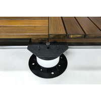 Hardwood Deck Tile Elevating Pedestal System image
