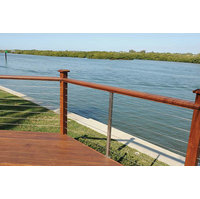 WiseRail® 316 Grade Stainless Steel Deck Cable Railing System image