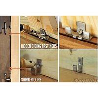 Rainscreen Stainless Hidden Siding Fastener Clips image