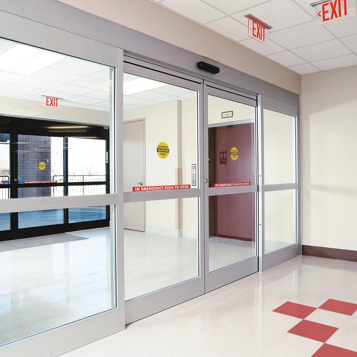 Sliding Door Automatic Sliding Door Emergency