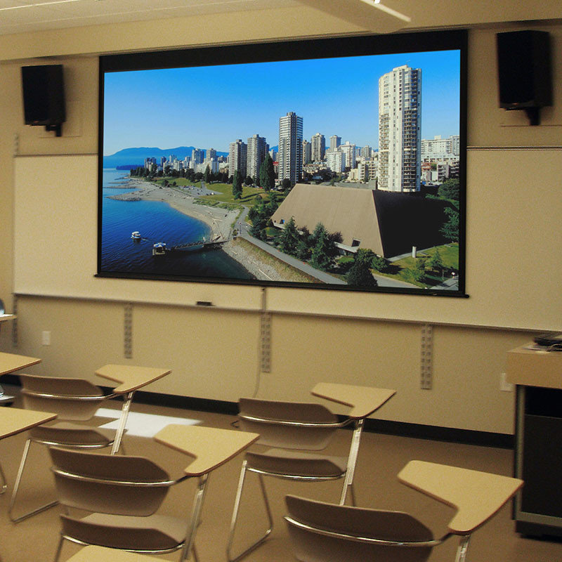 Audio Visual Equipment - Manual Projection Screens