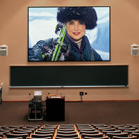 Audio Visual Equipment - Permanently Tensioned Projection Screens image