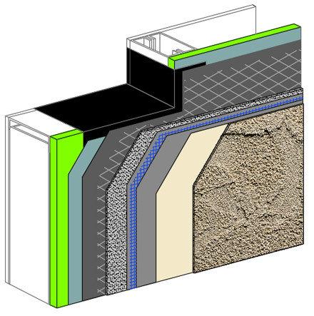 Commercial Cement Plaster