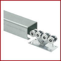 Galvanized Steel Gate Track image