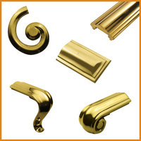 Brass Handrail & Ends image
