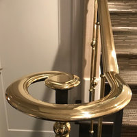 Brass Handrails and Fittings by Grande Forge image
