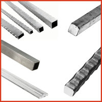 Aluminum Tubing, Textured and Plain Bar image