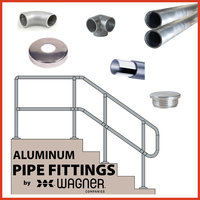 Aluminum Pipe Fittings image