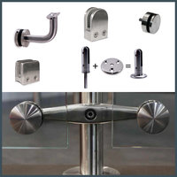 Glass Clamps and Glass Mount Brackets image